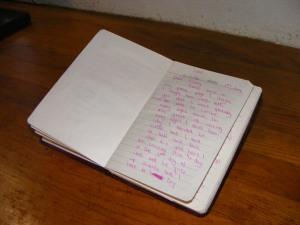 diary entry 1984