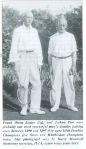 Frank Stoker and Joshua Pimms