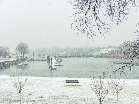 Snow time in Mamaroneck
