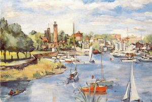 Mamaroneck by unknown artist (c)