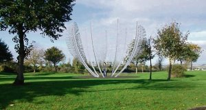 proposed 'Feather' sculpture