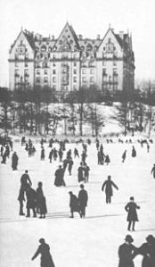 The Dakota in winter c. 1890 - (image as appears chp 17 of Time and Again)