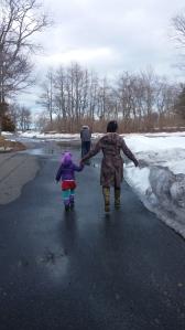 Little Erin stroll