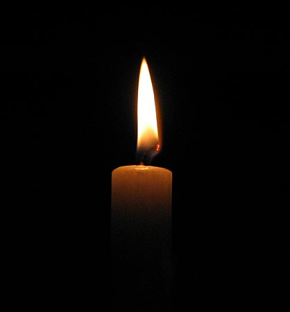 candle of light